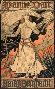 Eugène Grasset, Jeanne d'Arc, Frankreich, 1889/90