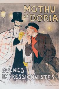 Théophile-Alexandre Steinlen, Mothu et Doria, Frankreich, 1893