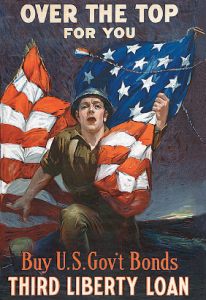 Sidney H. Riesenberg, Over The Top For You, USA, 1917