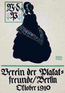 Lucian Bernhard (Emil Kahn), Verein der Plakatfreunde, Deutschland, 1910